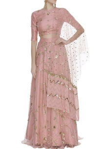 raw-silk-sequin-zardozi-embroidered-lehenga-set