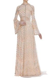 zigzag-embroidered-anarkali-gown