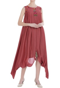 asymmetric-cowl-dress-with-slip