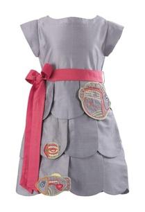 tiered-dress-with-waistbelt