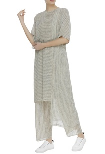 khadi-striped-boxy-tunic