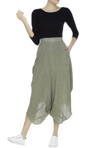 crinkled-cotton-draped-pants