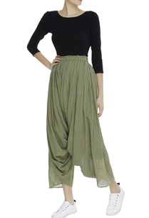 pleated-draped-khadi-pants