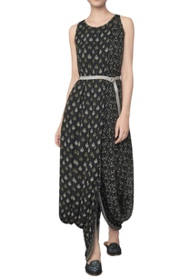 bamberg-georgette-ranthambore-printed-dhoti-gown