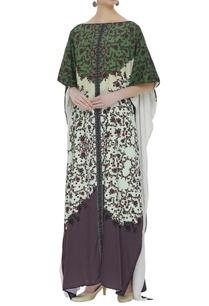 crepe-floral-printed-kaftan