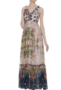 tiered-style-printed-maxi-dress