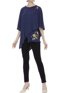 asymmetric-floral-embroidered-tunic