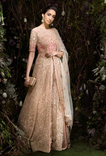 raw-silk-embroidered-lehenga-set