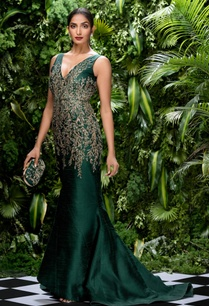 raw-silk-sequin-embroidered-bugle-bead-gown