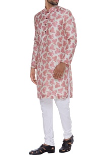 printed-kurta-with-churidar