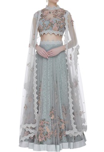 lace-tulle-hand-embroidered-lehenga-set