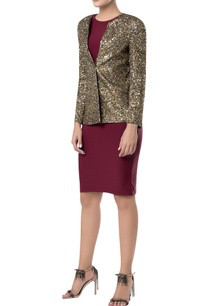 gold-sequin-embroidered-blazer-jacket