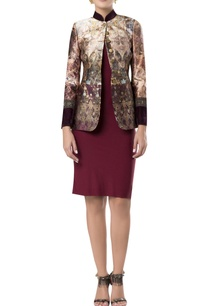 printed-blazer-with-sleeve-detail