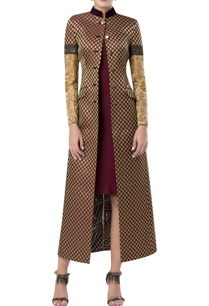 brocade-over-jacket-with-embroidered-sleeves