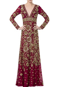 hand-embroidered-floor-length-gown