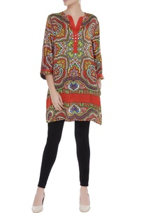 digital-printed-satin-tunic
