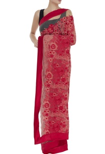 floral-thread-embroidered-net-sari
