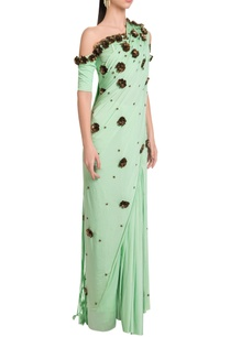 embellished-fringe-sari