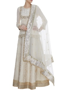 chiffon-zardozi-jacket-with-brocade-lehenga-set