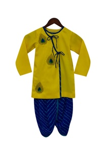 embroidered-kurta-with-dhoti