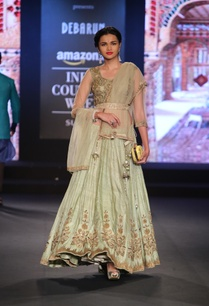 gold-zari-embroidered-lehenga-with-blouse-and-dupatta
