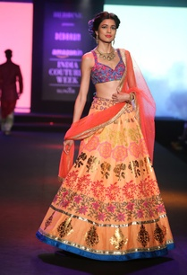 embroidered-lehenga-with-sleeveless-blouse-and-dupatta
