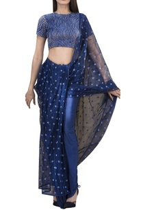 pre-pleated-sari-with-blouse