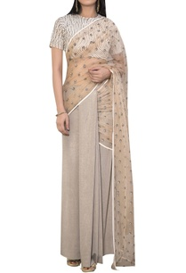 embroidered-sari-with-laser-stripe-blouse