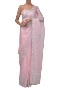 soft-pink-organza-sari-with-studded-tube-blouse