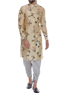 floral-printed-cotton-silk-kurta