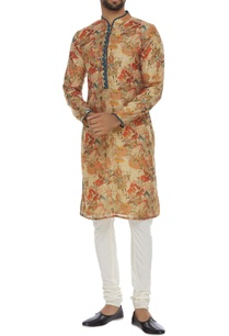 chanderi-printed-kurta