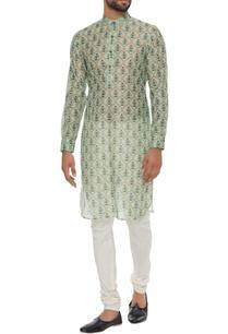 chanderi-floral-printed-classic-kurta
