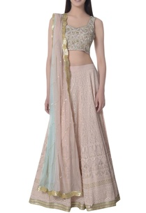 sequin-lucknowi-embroidered-lehenga-set