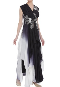 floral-embroidered-gown-with-asymmetric-hemline