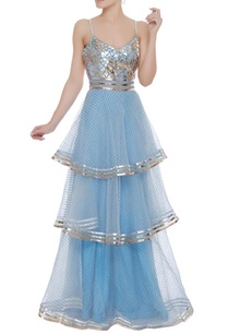 tiered-gown-with-metallic-cutwork-embroidery