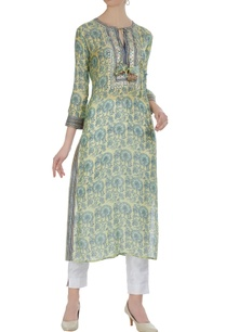 printed-tunic-with-mirror-dori-work