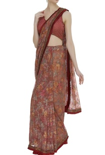 embroidered-frill-sari-with-blouse