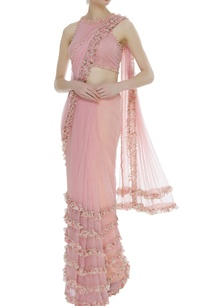 frilly-embroidered-sari-with-blouse
