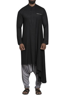 side-drape-kurta