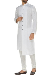 linen-asymmetric-kurta-with-square-buttons