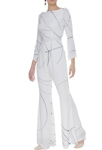 hand-painted-flared-jumpsuit