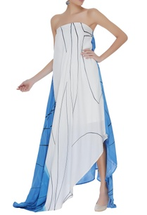 hand-painted-asymmetric-draped-dress