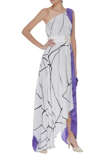 hand-painted-one-shoulder-dress