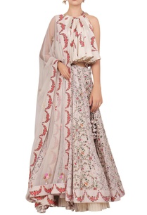 floral-printed-flared-blouse-with-lehenga-dupatta
