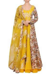 crepe-silk-floral-hand-painted-anarkali-set