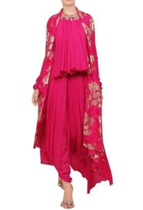 crepe-silk-sequin-embroidered-blouse-with-cape-dhoti-pants