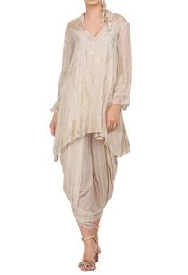 crepe-silk-foil-printed-tunic-with-dhoti-pants