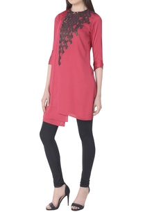 sequin-embroidered-double-layer-tunic