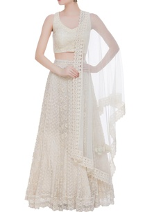 chikankari-lehenga-with-sleeveless-blouse-and-dupatta