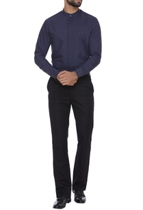 shirt-with-button-down-placket